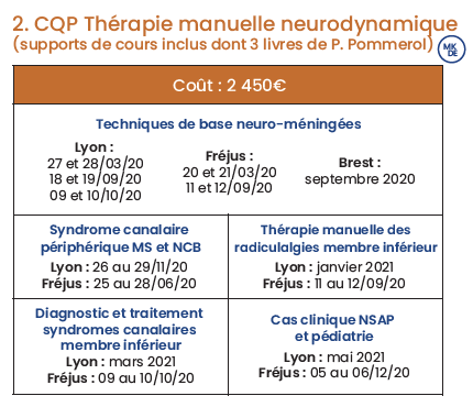 CQP TM Neurodynamique
