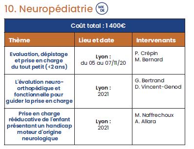 NEUROPEDIATRIE
